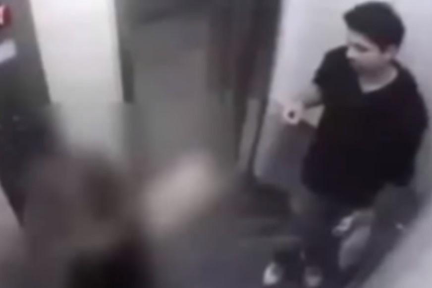 بالفيديو : بنت تضرب شابان حاولا التعدي عليها فى المصعد