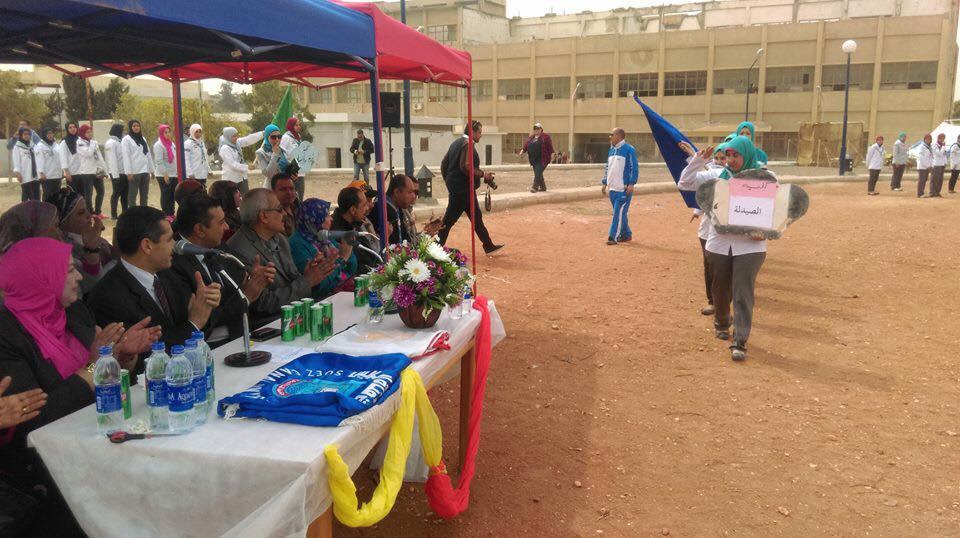 بالصور .. افتتاح المهرجان ال21 لجولات جامعة قناة السويس