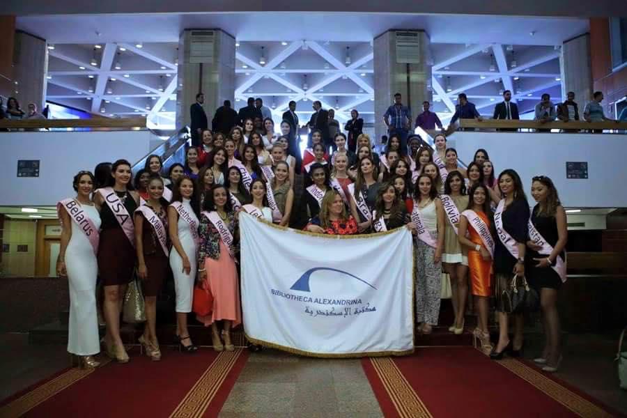عروس البحر المتوسط تستضيف ملكات جمال العالم خلال زيارتهن لمصر