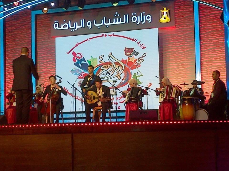 شباب جامعة قناة السويس يتألقون بمسابقة ابداع ٤ بالاسكندرية  فى الموسيقى والكورال
