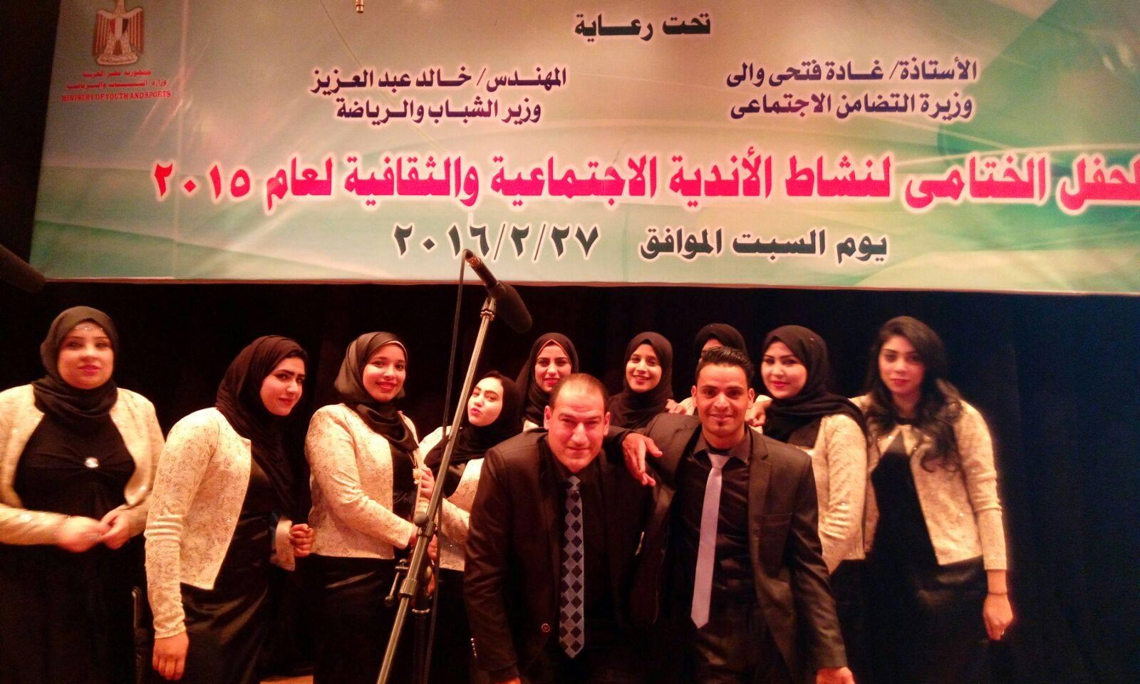 بالصور  : فوز فرقة الرواد للموسيقى العربية لسنة الرابعة على التوالى بالإسماعيلية