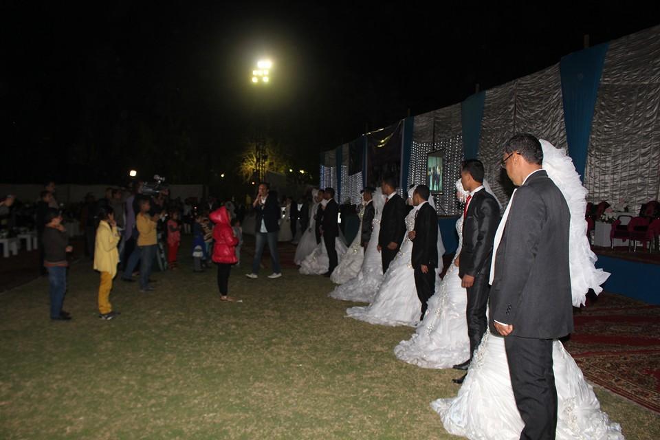 بالصور … حفل زفاف ل15عروسه يتامي