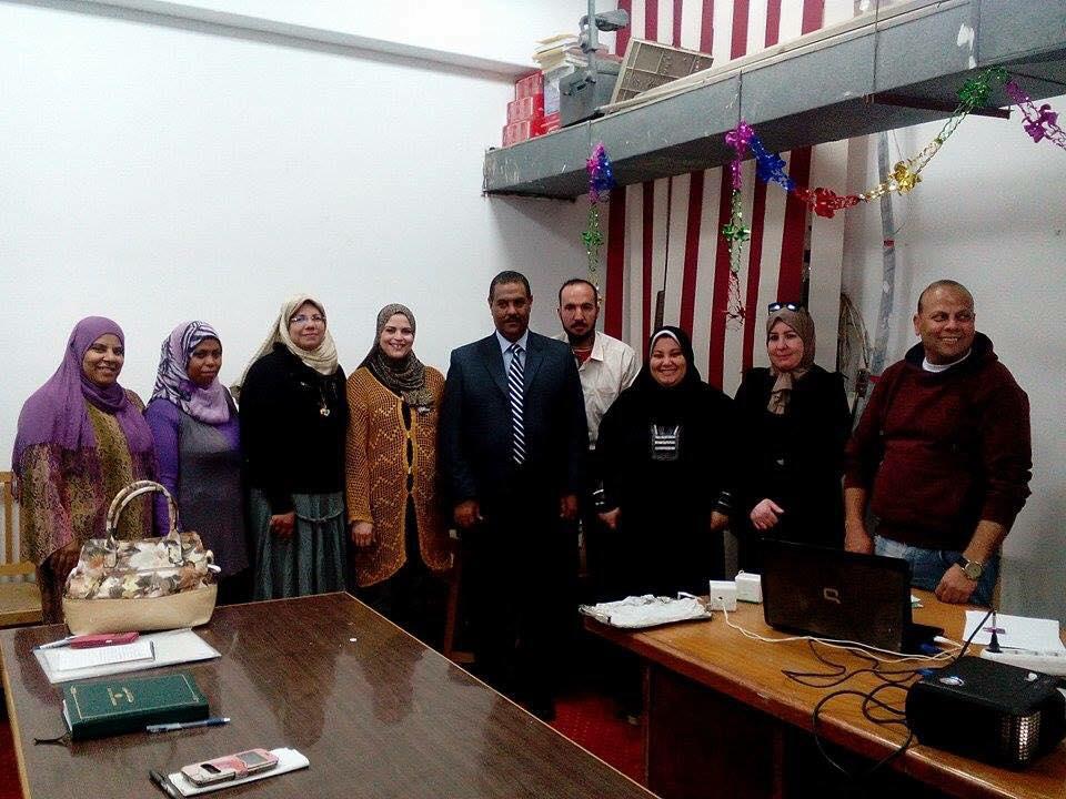 استمرارا لفاعليات برنامج الاساليب المكتبية الحديثة بجامعة قناة السويس