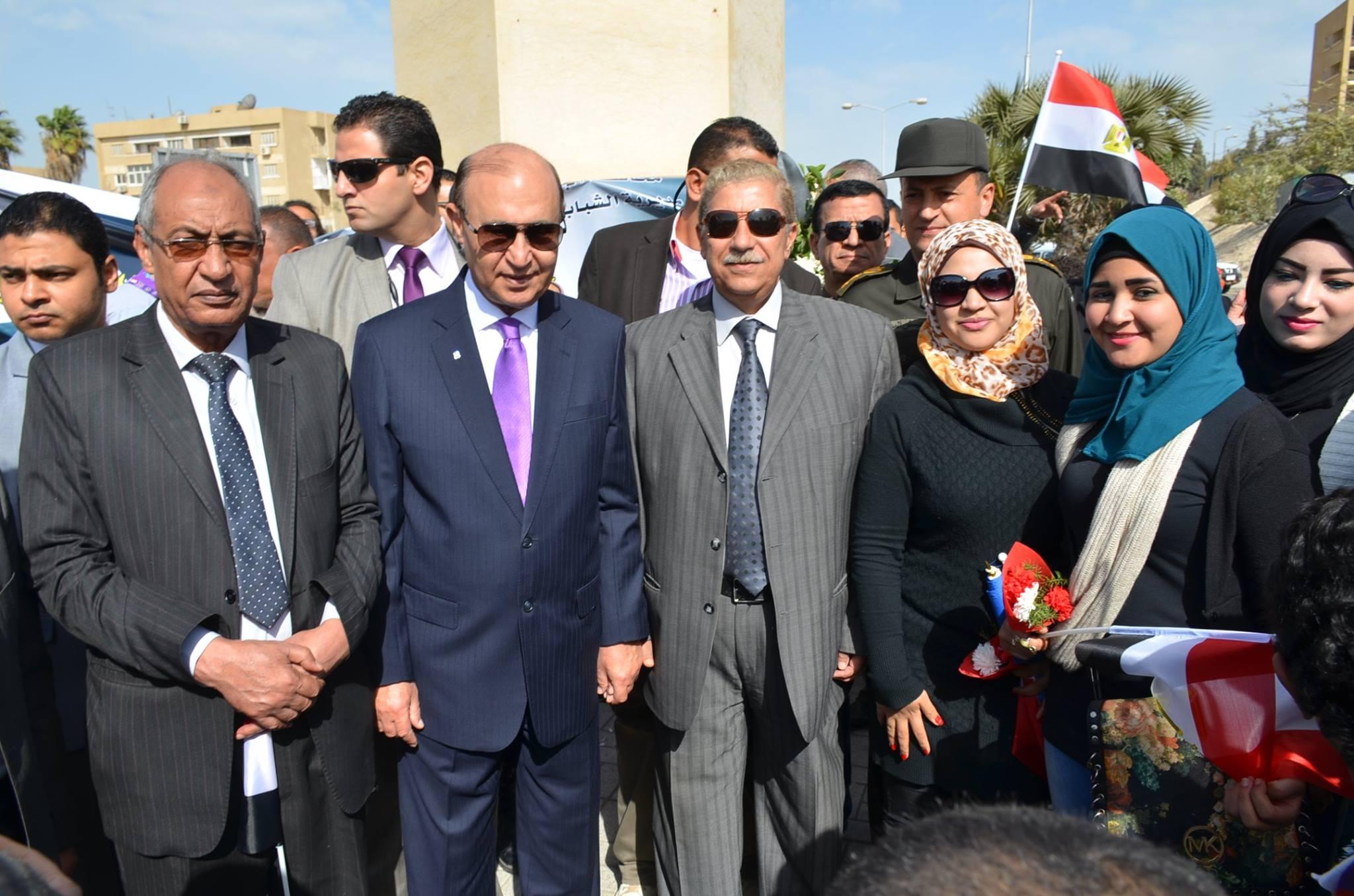 الاسماعيلية تنظم مسيرة إحتفالا بذكرى الشهيد عبد المنعم رياض