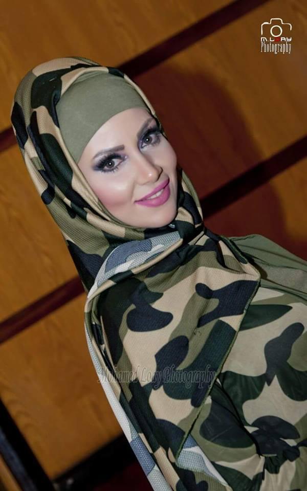 """تتألق الموديل """"سلمى المشد""""فى عالم الموضة للمحجبات 2016"""