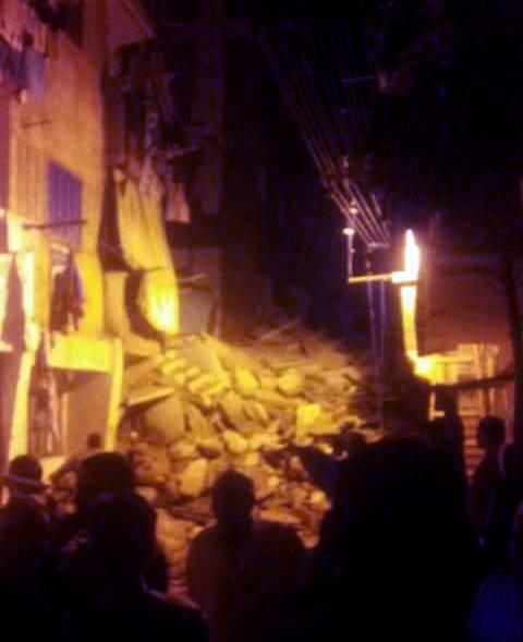 عاجل: انهيار عقار بمنطقة ابو سليمان بالاسكندرية
