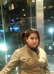 الصحفية منى رضا