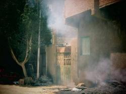 بالصور الدفاع المدني يسيطر على حريق نشب بسيارة بالوادي الجديد الوادي الجديد