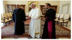 التعاون بين الازهر والبابا الفاتيكان