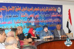السفيرة ناهدمحمد شاكر تواصل حملتها ضد الإرهاب والتعاطي علي مستوي محافظات جمهورية مصر