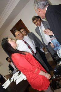 مع وزير الصحة