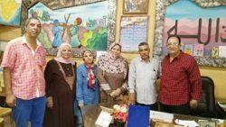 """لأول مرة بالفيوم  """" التعليم المجتمعى بسنورس يفتح فصول لرياض الاطفال """""""