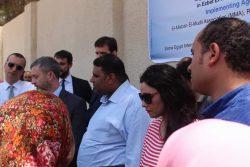 زيارةالاتحاد الاروبي لمتابعة المشروعات التي يمولها في مصر