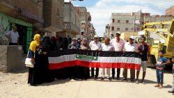مشاركة مجتمعية فاعلة في مبادرة حلوة يا بلدي بمدينة المطرية في محافظة الدقهلية