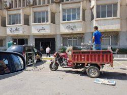 هل يستخدم مبني حي الشرق ببورسعيد مخزنا لشيش القهاوي ؟؟؟