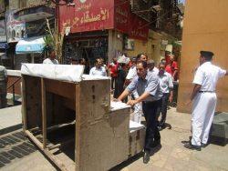 حملات موسعة بالقاهرة  لإعادة الانضباط إلى الشارع المصري وميدان العباسية وعبده باشا