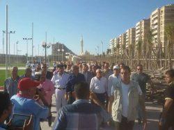 بالصور : زيارة وزير الشباب والرياضة ومحافظ بورسعيد للنادي الاجتماعي الجديد للنادي المصري
