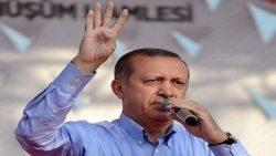 تركيا تبرر رفع اردغان لإشارة رابعة