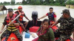 فيضانات _ النيبالية تقتل 58 شخصاً