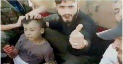 الجيش السوري يقتل ارهابى شارك بذبح الطفل عبدالله