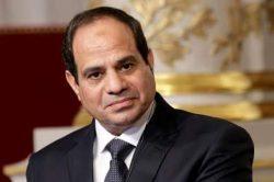 الرئيس السيسى يستعرض الموقف المائى فى مصر