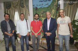 احمد حلمي يصور فيلمه الجديد في شرم الشيخ موجها رسالة الى العالم