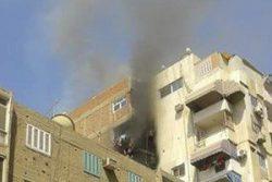 مصرع 3 أشخاص اختناقا جراء حريق شقة سكنية بجوار معهد القلب بمنطقة العجوزة