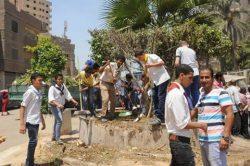 الدالى : حملة نظافة شاملة ورفع إشغالات ببولاق الدكرور ومدينة أوسيم