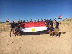 المتحدث العسكرى صرح عبر صفحتة الشخصية فيس بوك البحث العلمى قاطرة بناء مصر ..