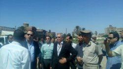 """محافظ الفيوم يتابع فعاليات المرحلة الثانية من مبادرة """" حلوة يا بلدي """""""