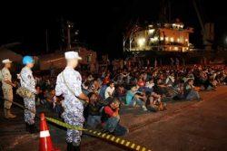 القوات البحرية تحبط محاولتين للهجرة الغير شرعية شمال البرلس إلى دول جنوب أوروبا