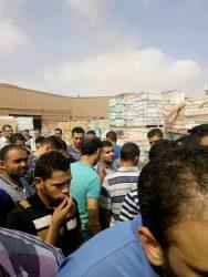كلاكيت تانى مرة : إضراب عمال سيراميكا فارسينا بالعاشر من رمضان محافظة الشرقية