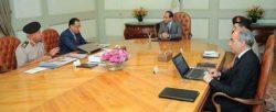 اجتمع الرئيس عبد الفتاح السيسي اليوم بالدكتور مصطفى مدبولي إستعراضاً للموقف التنفيذي للعاصمة الإدارية الجديدة