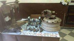 ضبط ورشة لتصنيع الاسلحة بحوزة خراط ببندر أسيوط