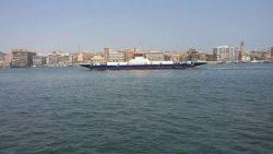 بتوجيهات الفريق مميش … أربع معديات سيناء جديدة تدشنها ترسانة بورسعيد البحرية