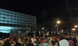 مظاهرات طلاب بورسعيد ضد قرار المحافظ عادل الغضبان