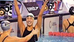"""فريدة """"السباحة"""" تحصد ذهبية 50 مترًا فى بطولة العالم"""