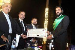 نصبت جمعية العلاقات العامة المصرية للسفير شريف الجمل سفيراللسلام و النوايا الحسنة