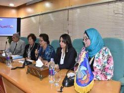 """""""رانيا يحيى"""" .. تقود لقاء المجلس القومى للمرأة لحث المرأة على خوض المحليات بالبحيرة"""