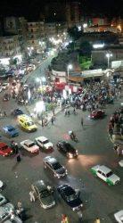 انفجار  أمس فى سوبر ماركت( راشد ) بميدان النافوره في مدينه دمنهور بمحافظه البحيره