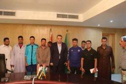 محافظ الفيوم يطمئن علي سلامة المصريين المختطفين فى ليبيا