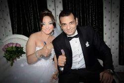 شاهد بالصور احتفال زواج الفنانه عايده غنيم والسيناريست أحمد عاشور