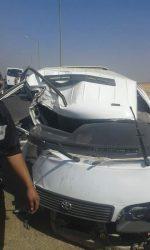 حادثة على طريق العاشر بلبيس محافظة الشرقية