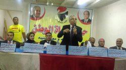الغباشى يفتتح مقر أمانة حزب حماة الوطن بأشمون – منوفية