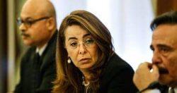 وزيرة التضامن: صرف 750 مليون جنيه معاشات ومتابعة مستمرة لمنافذ الصرف