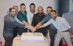 رامي جمال يحتفل بالبومة الجديد