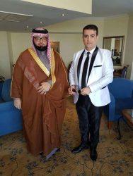 """الإعلامى """"أحمد خليل """"يكرم سادن الكعبة فى مؤتمر مصر على طريق الانجاز"""