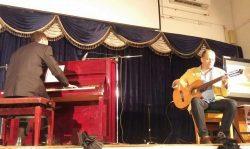 """كيرو """" كيرلس وسيم """" موهبة بورسعيدية تتألق في  حفل الريستال بيانو الأول علي مكتبة مصر العامة ببورسعيد"""
