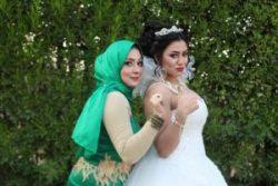 خبيرة التجميل هند كمال تحصد كأس مهرجان فرسان الجمال فى وسط حضور عربي وعالمي