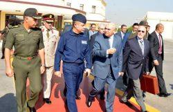 صبحى يغادر القاهرة متجها إلى روسيا فى زيارة رسمية تستغرق عدة أيام